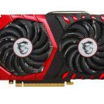 MSIよりGTX1050 Ti搭載カード「GeForce GTX 1050 Ti GAMING X 4G」発売