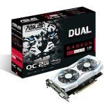 ASUSよりホワイトカラーのRadeon RX460ビデオカード「DUAL-RX460-O2G」発売