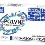 CFDよりNVMe M.2 SSD「M2OPG1VN」シリーズ2モデル発売