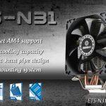 ENERMAXのAMD Ryzen対応空冷CPUクーラー「ETS-N31-02」発売