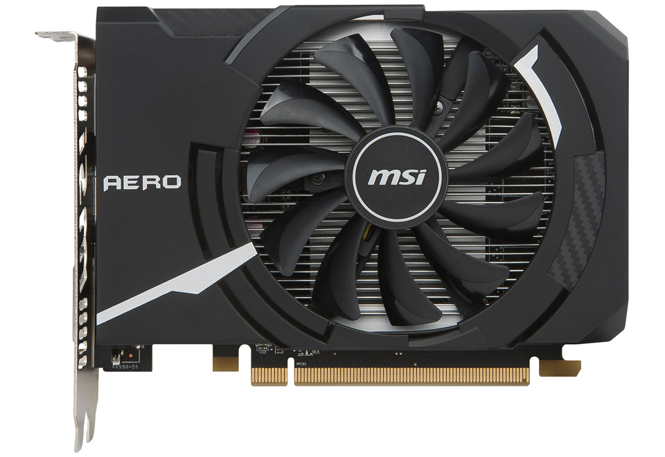 MSI Radeon RX 550 AERO ITX 2G OC-1