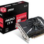 MSIよりRadeon RX550搭載ショート基板採用ビデオカード「Radeon RX 550 AERO ITX 2G OC」発売