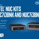 Kaby Lake世代Core i7/Core i5/Core i3搭載Intel NUCスペックまとめ