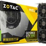 ZOTACより最高1911MHz駆動のGTX1080グラボ「ZOTAC GeForce GTX 1080 AMP Extreme+」発売
