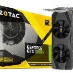 ZOTACよりGTX1050 Ti/1050搭載ロープロファイルグラボ2製品発売