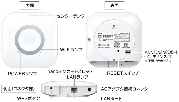 Aterm HT100LN-1