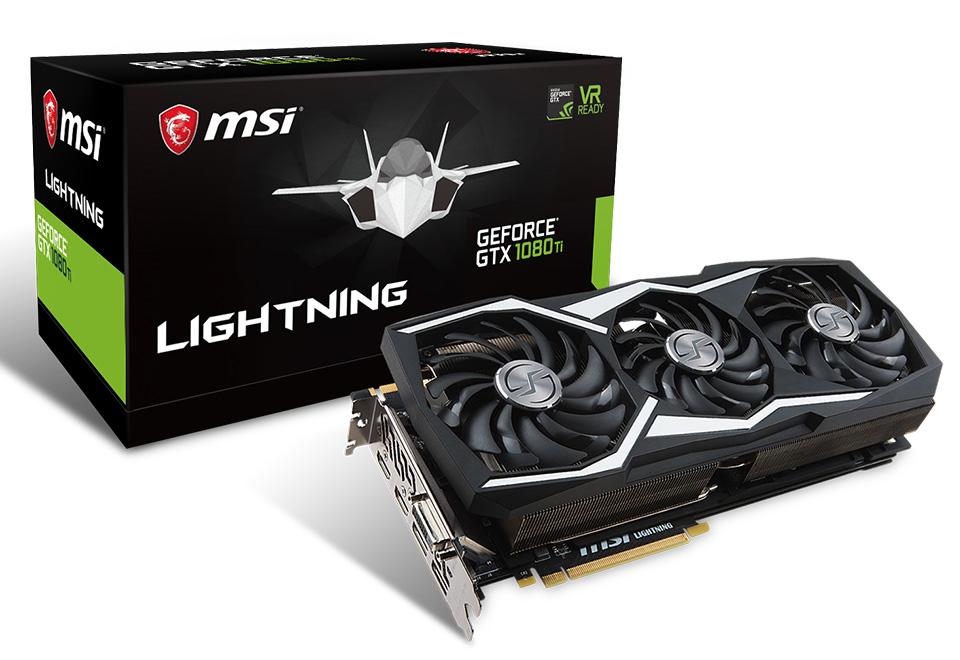 MSI GeForce GTX 1080 Ti LIGHTNING X