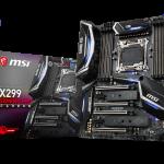MSIよりメインストリームのIntel X299マザー「X299 GAMING PRO CARBON」発売