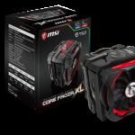 MSIの最大250WのCPU冷却性能を実現したCPUクーラー「CORE FROZR XL」発売