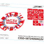 CFDから東芝製SSDを採用した2.5インチSSD3製品が発売。64層3D NANDを採用