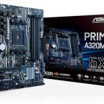 ASUSのAMD AM4マザー「PRIME A320M-A」発売