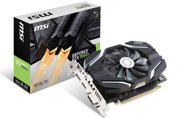 GeForce GTX 1050 Ti 4G OCV1