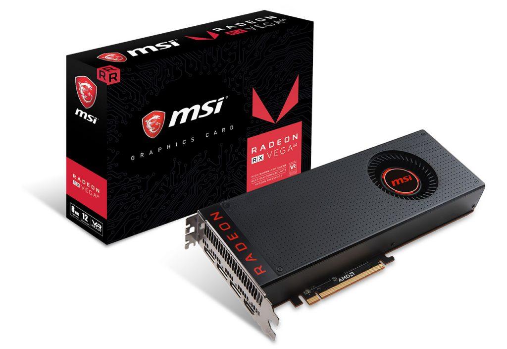 MSI Radeon RX Vega 64 8G