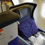 ANA NH110 ビジネスクラス 羽田→ニューヨーク(JFK) 搭乗記